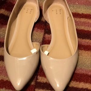 89cf486524b93 a new day Shoes - Mohana D Orsay Pointed Toe Ballet Flat